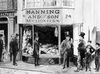 Benjamin Manning and Sons Butcher Shop