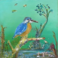 Kingfisher by Rosie Usher