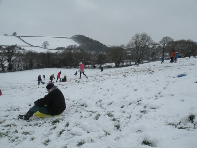 Sledging March 18th 2018