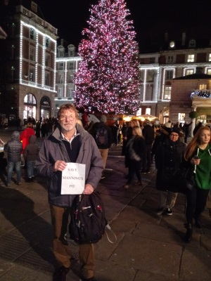 Chris Bulpett at Covent Garden