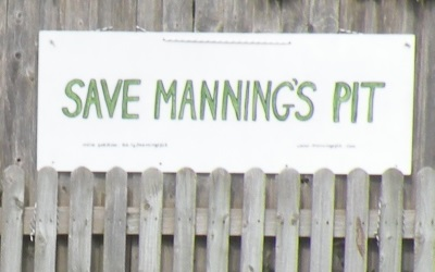 Facing the end of Manning's Way