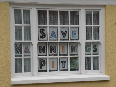 Window in Pilton Street