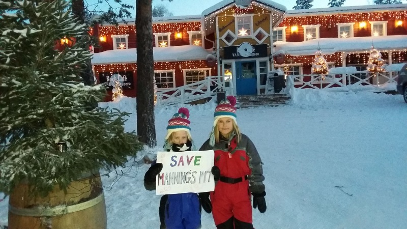 Message from Lapland