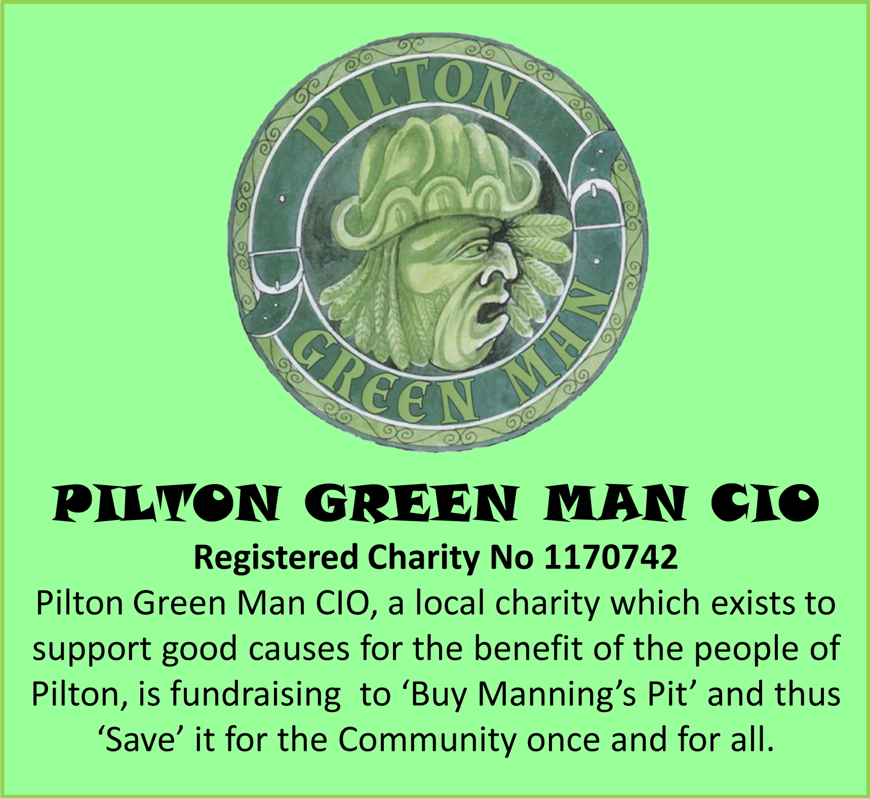 Pilton Green Man CIO