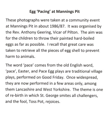 About egg pacing