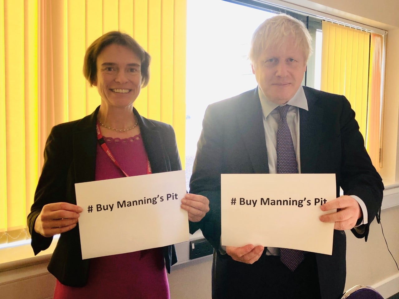 Boris Johnson supports our campaign